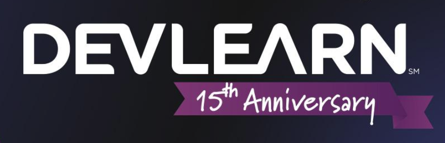 DevLearn 15th anniversary.